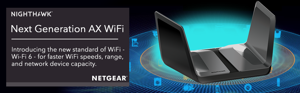 Netgear Nighthawk RAX80 WiFi Router