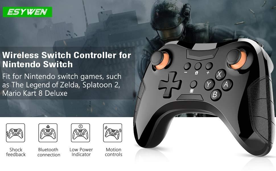 EsyWen Wireless Controller for Switch