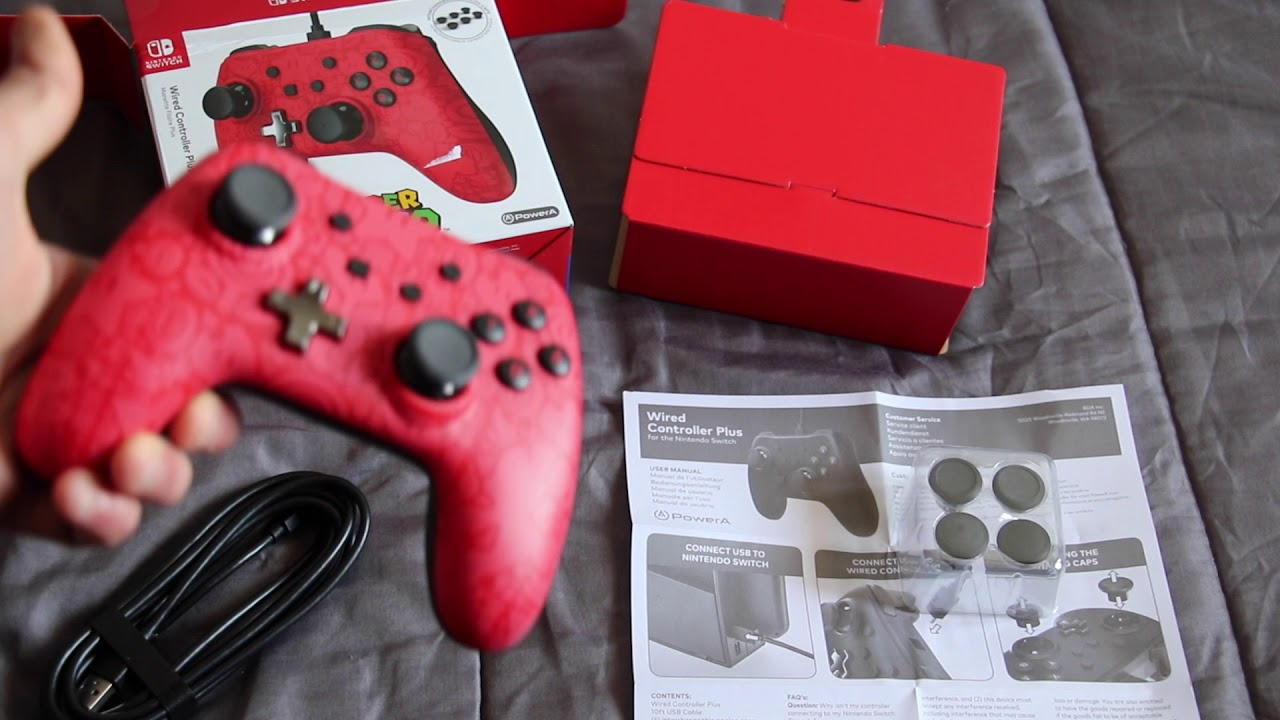 Power A Wired Controller Plus