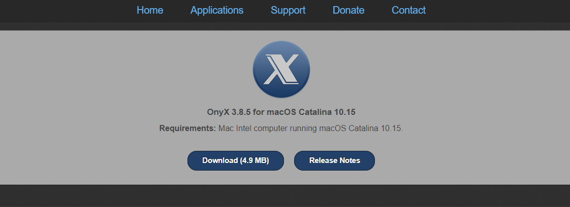 OnyX Mac Cleaner